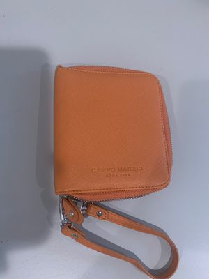 Italian leather wallet , for small stationery, leather campo marzio for Sale in Dublin, CA