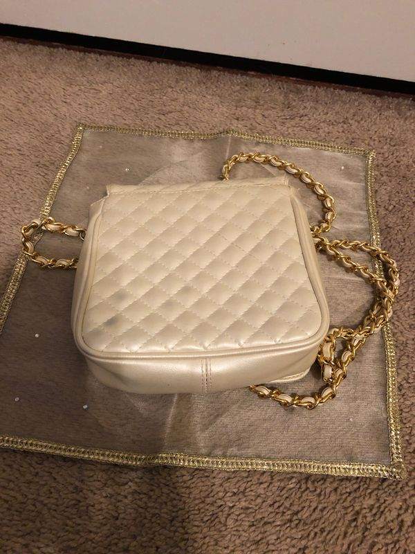 Cream Color Evening Bag by Amanda Smith