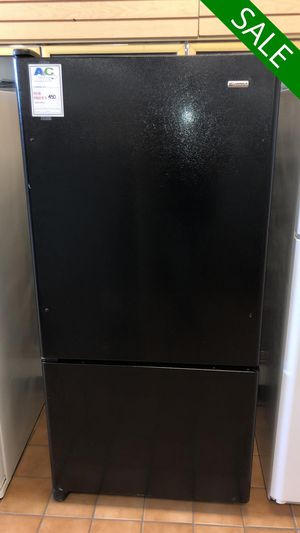 FREE DELIVERY!! Kenmore CONTACT TODAY! Refrigerator Fridge Black #1473 for Sale in Fort Washington, MD