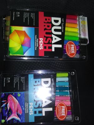 Dual brush pens 10pc for Sale in LOS RNCHS ABQ, NM