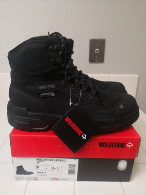 Brand new wolverine legend composite toe work boots size 9 for Sale in Riverside, CA