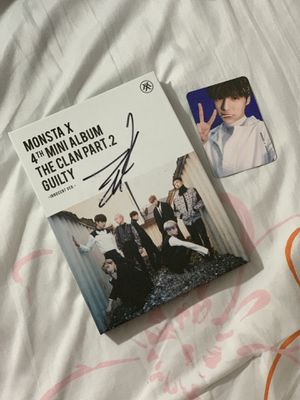 I.M. Signed Monsta X The Clan Pt. 2 | Innocent Version for Sale in Ontario, CA