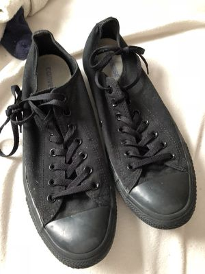 All black converse size 12 for Sale in Annandale, VA