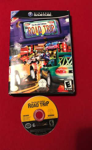 GameCube Road Trip The Arcade Edition,Tested! No Manual for Sale in Mayville, MI