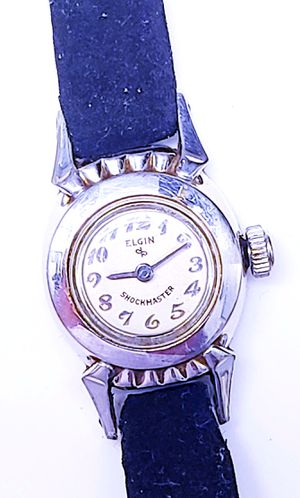 "BEAUTIFUL 1950'S ""TINY"" ELGIN LADIES GOLD MECHANICAL WATCH ""SUPER NICE"" for Sale in New York, NY"