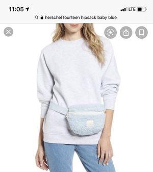Herschel fourteen hip sack baby blue waist bum bag women for Sale in La Puente, CA
