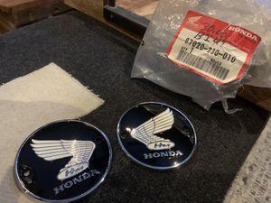 Honda motorcycle tank badges for Sale in Burbank, CA