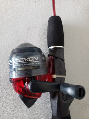 Zebco dock demon fishing reel and rod for Sale in Suffolk, VA