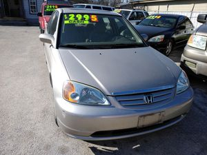 01 HONDA Civic $2995 Cash or we can finance with $1800 down no crédit check no driver license needed no paystubbs needed hablamos español for Sale in San Antonio, TX