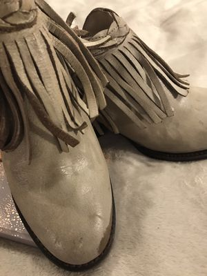 NEW! FREEBIRD Leather Fringe Booties for Sale in Boston, MA