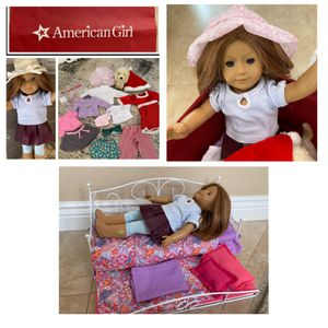 AMERICAN GIRL doll plus all accessories as shown in photos. Comes with a doll trundle bed with all bedding for Sale in Laguna Hills, CA