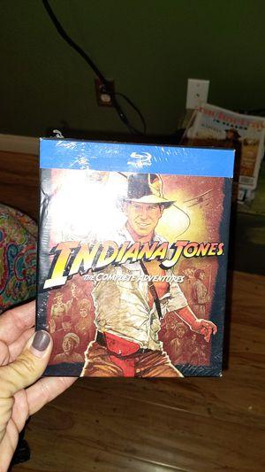 INDIANA JONES COMPLETE ADVENTURES BLURAY for Sale in San Diego, CA