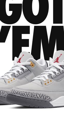 Jordan 3 Cool Grey Size 13 for Sale in Woodinville,  WA