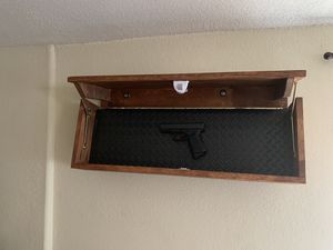 Custom Floating Shelves with Hidden Compartment for Sale in Tucson, AZ