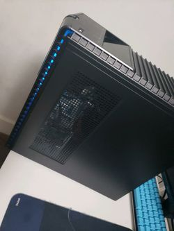 Hp omen gaming computer with corsair k55 rgb keyboard and a logitech g502 mouse for Sale in Pineville,  LA