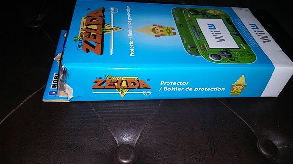 Retro Legend of Zelda Nintendo Wii U Protector