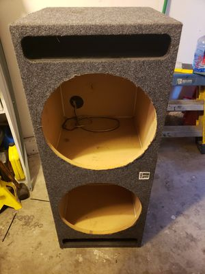 "Dual 15"" Ported Subwoofer Enclosure Box. for Sale in HUNTINGTN BCH, CA"