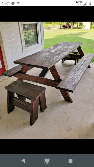 Patio Pic Nic table for Sale in Van, TX