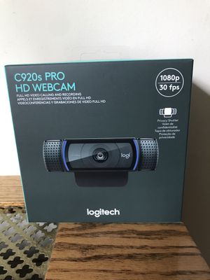 Logitech C920s HD Pro 1080p Webcam Brand new for Sale in Queens, NY