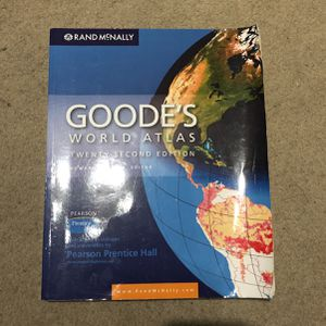 Goode's World Atlas 22nd Edition for Sale in Huntington Beach, CA