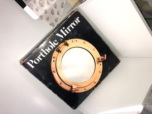 Porthole Mirror Solid Brass for Sale in Boston, MA