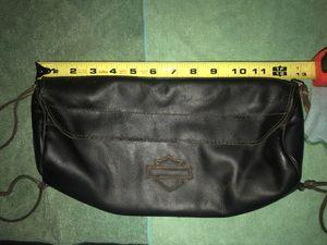 Harley-Davidson Soft Leather Handlebar/Fork Bag, parts for Sale in San Diego, CA