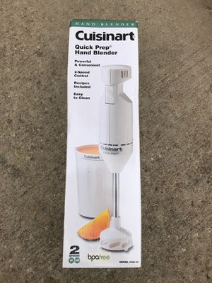 Cuisinart quick prep hand blender for Sale in Mount Holly, NC