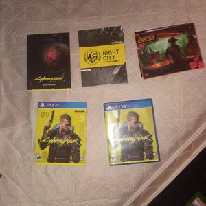 CYBERPUNK & Other PS4 GAMES for Sale in Phoenix, AZ