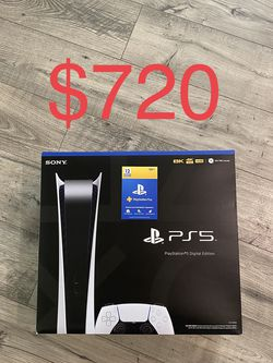 PS5 Digital With One Year Of PlayStation Plus for Sale in Lathrop,  CA
