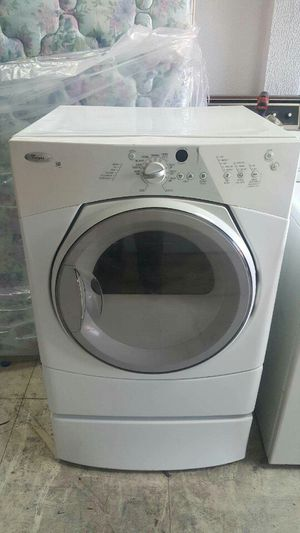 WHIRLPOOL FRONT LOAD ELECTRIC DRYER ON PEDESTAL **DELIVERY AVAILABLE TODAY** for Sale in Maryland Heights, MO