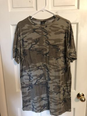 Camo Tee Shirt Dress for Sale in Everett, WA