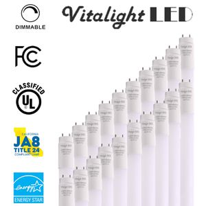 VitaLight LED T8 light Tube 4ft, 18W (40W Replacement), 2200 Lumen for Sale in Clovis, CA