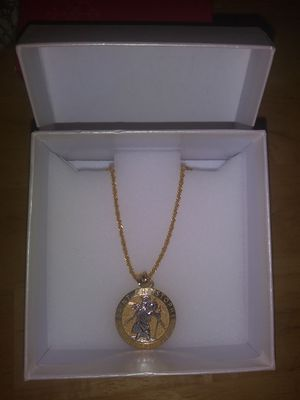 Saint Christopher 14K Gold Chain for Sale in Baltimore, MD