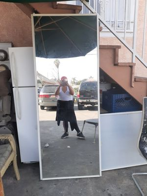 Two mirror sliding door for a closet for Sale in Los Angeles, CA