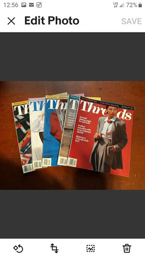 Lot of 5 Threads Magazines Good Condition for Sale in Winter Haven, FL