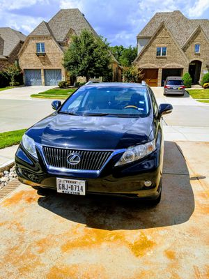 2010 Lexus RX-350 Sports Utility. Excellent condition for Sale in Irving, TX