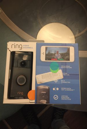 Ring video doorbell system for Sale in Raleigh, NC