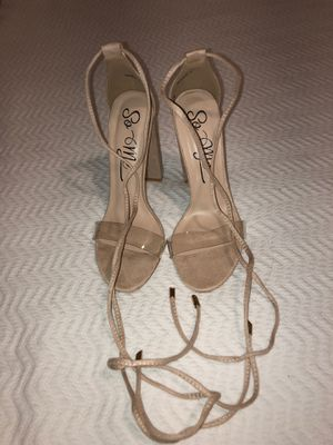 Heels Nude Laced up for Sale in Coral Gables, FL