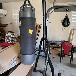 Everlast Punching Bag with Stand for Sale in Houston, TX
