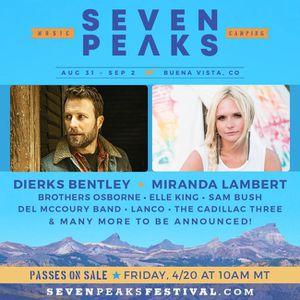 Seven peaks music festival passes for Sale in Denver, CO