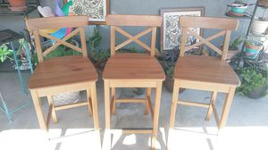 INGOLF SOLID WOOD BAR STOOL for Sale in Fresno, CA