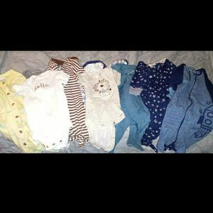 Baby Clothes 0-3 Boy Over 40 Items for Sale in Boston, MA