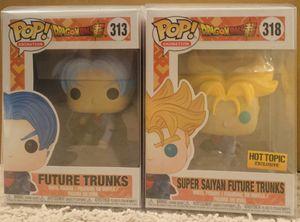 Funko POP: 313 & 318 Dragon Ball Z - Future Trunks for Sale in Issaquah, WA