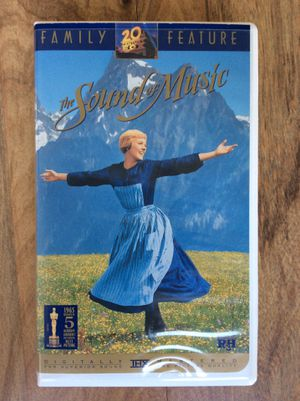 VHS movie, The Sound of Music for Sale in Virginia Beach, VA