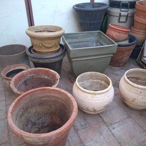 Flower Garden Pot. Pots Measure 8-24in Wide for Sale in Mesa, AZ