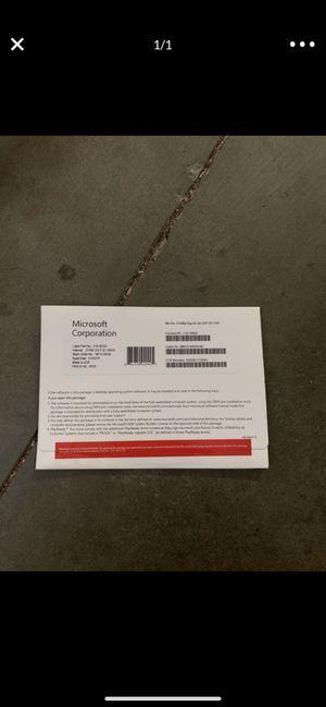 2 of WINDOWS 10 PRO 64 Bit DVD OEM KEY license for Sale in Walnut, CA