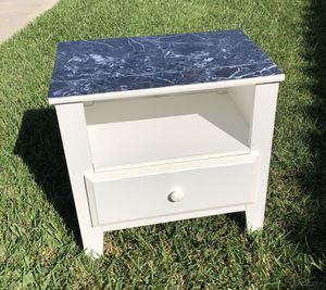 BEAUTIFUL! Clean white table or cabinet! for Sale in Oceanside, CA
