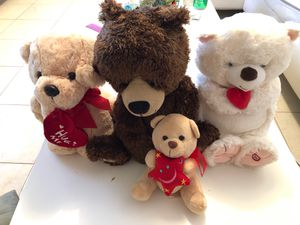 Lot of like new Teddy Bears and Puppy for Sale in San Diego, CA