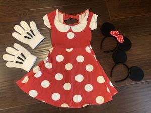 Minnie Mouse Costume for Sale in Santa Ana, CA