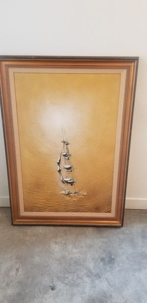 Sailboat painting for Sale in Los Angeles, CA
